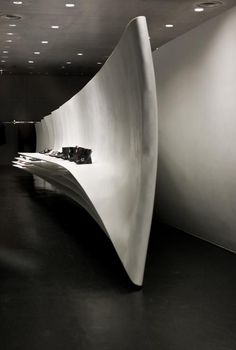 ♂ Minimalist commercial space interior design Neil Barret store in Tokyo by Zaha Hadid