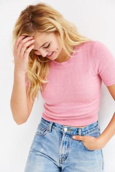 Cooperative Tiny Cozy Tee - Urban Outfitters