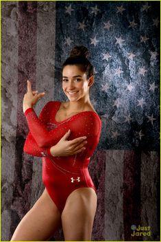 Gabby Douglas & Aly Raisman Talk About Age In Gymnastics While ...