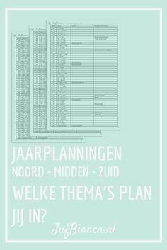 Jaarplanning   JufBianca