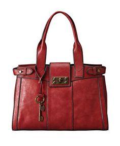 Fossil Handbag, Vintage Reissue Leather Satchel