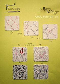 Meine Zentangle® Muster