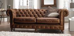 Thomas Lloyd Vintage Chesterfield Sofa