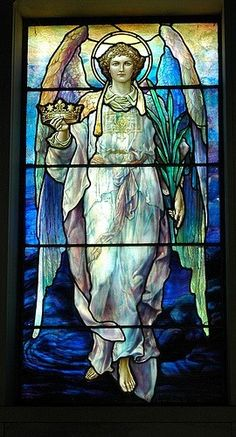 Love this Stained Glass Angel....