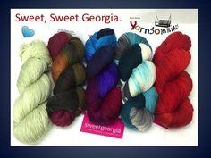 Sweet Georgia Yarns