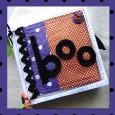 Halloween Quiet Book | YouCanMakeThis.com