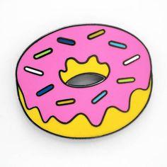 Donut Emoji  Enamel Pin for your Life
