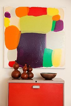 simple colorful vignette via the Selby