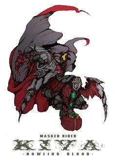 続いてキバです。 吸血鬼なんだから基本フォームからマント付けててもいいんじゃないのかと思って大げさにつけてみました。 昔こんなサブタイトルのついた格ゲーがあったような気がする。(確信) Character Concept, Character Art, Concept Art, Pen & Paper, Kamen Rider Series, Mecha Anime, Meme Pictures, Fanart, Cyberpunk Art