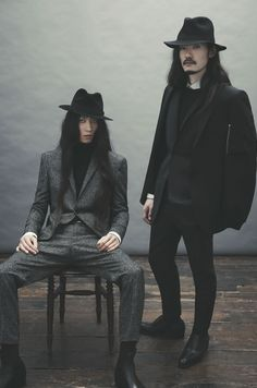 Ozwald Boateng-2012 fashion holy fashion i have a monster nosebleed over these two models!!!