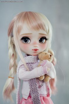 Welcome to Poison Girl's Dolls! I'm María and customizing dolls is my passion. Pullip & Blythe custom dolls for sale in my shop. Ooak Dolls, Blythe Dolls, Girl Dolls, Barbie Dolls, Pretty Dolls, Beautiful Dolls, Cute Baby Dolls, Doll Home, Kawaii Doll