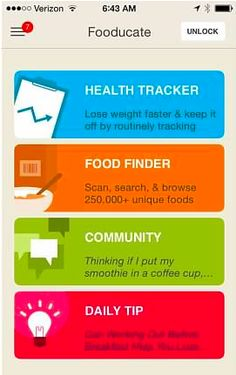Fitness Apps: Fooducate If you're confused about which foods are best for you, there's a high-tech way to find out. If you have a smartphone, the Fooducate Appwill help you decide which foods are good, which are bad, and more importantly… tell you why. It was chosen by Apple as the Best Health App of …