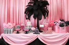 Do you know how to choose Lingerie Shower food? Here are some Lingerie Shower food suggestions: from berries, nuts and fresh greens to chocolate and drinks. Sweet 16 Parties, Pink Parties, Candy Table, Candy Buffet, Dessert Table, Birthday Table, Birthday Parties, Lingerie Shower Foods, Fiesta Shower