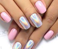 Chrome nail design