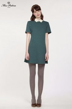 Biba Dress (Teal) | Miss Patina