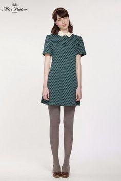 Biba Dress (Teal) (1)
