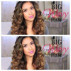 love big curly hair