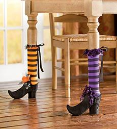 Set of 2 Halloween Chair And Table Leg Covers