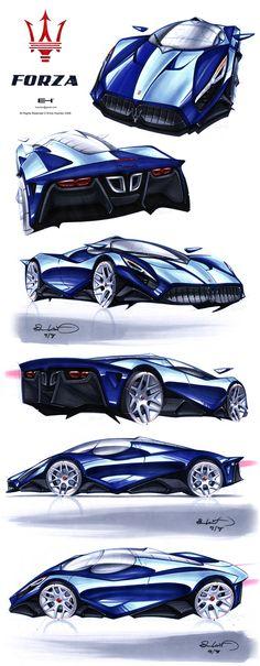 Maserati FORZA blu by =emrEHusmen on deviantART