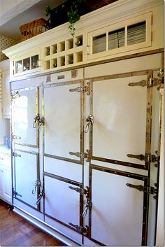 Refrigerator love.