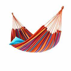 Multicoloured hammock from MyHammock.co.uk