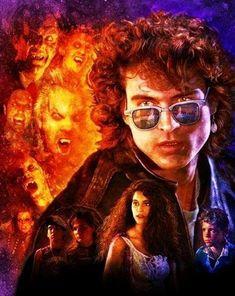 Horror Movie Art : The Lost Boys 1987 by Joel Robinson Horror Movie Posters, Movie Poster Art, Horror Films, Horror Art, 80s Movies, Scary Movies, Good Movies, Lost Boys Movie, The Lost Boys 1987