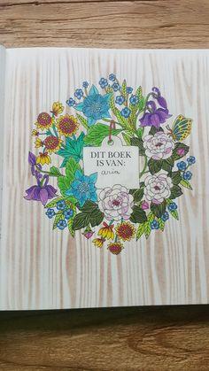 Voorblad van de Botanische tuin van Maria Trolle