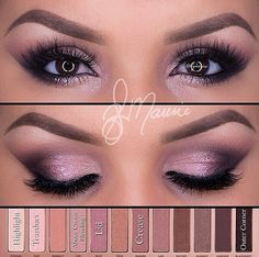 ROSE GOLD eye make-up look with the PAT . - Rose gold wedding jewelry make up prom up - Beautiful Eye Makeup, Beautiful Eyes, Romantic Makeup, Nice Makeup, Amazing Eyes, Easy Makeup, Simple Makeup, Natural Makeup, Rose Gold Wedding Jewelry