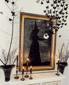 Farmhouse Halloween, Chic Halloween, Halloween Home Decor, Diy Halloween Decorations, Spirit Halloween, Vintage Halloween, Halloween Crafts, Halloween Party, Halloween Haunted Houses