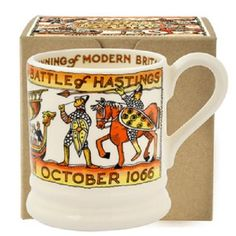 Emma Bridgewater Battle Of Hastings 1/2 Pint Mug Boxed