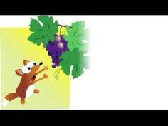 Favola: La volpe e l'uva, di Esopo. - YouTube