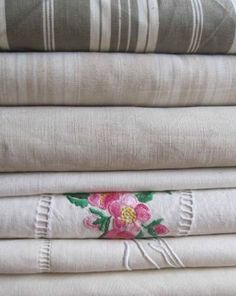 French vintage linen for just about anything
