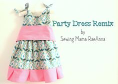 Sewing Mama RaeAnna: Project Run and Play Week 1 - Pleated Party