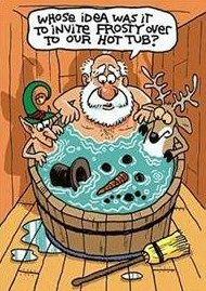 Funny Christmas Cartoons, Funny Christmas Pictures, Christmas Jokes, Funny Cartoons, Funny Comics, Funny Pictures, Father Christmas, Christmas Fun, Christmas Images