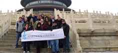 Hartwick students in China during J Term