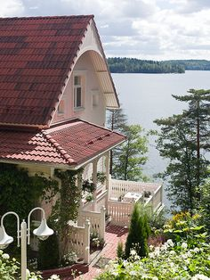 Ainola, Jarvenpaa, Lake District, Finland - Jean Sibelius' home which was named after his wife.