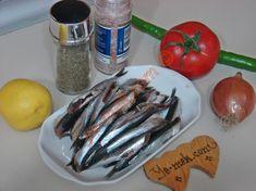 Fırında Hamsi Buğulama İçin Gerekli Malzemeler Eggplant, Sausage, Meat, Vegetables, Food, Vegetable Recipes, Eten, Veggie Food, Sausages