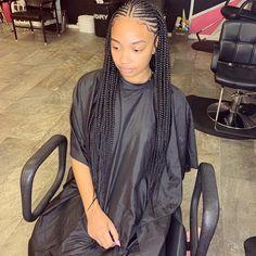 85 Box Braids Hairstyles for Black Women - Hairstyles Trends Box Braids Hairstyles For Black Women, French Braid Hairstyles, Black Girl Braids, African Braids Hairstyles, Braids For Black Hair, Girls Braids, Girl Hairstyles, Braids For Black Women Cornrows, Birthday Hairstyles