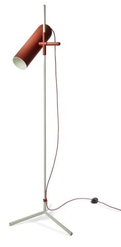 TALL ORDER: Buenos Aires–based designer Cristian Mohaded evokes the tubular spotlights of the 1970s in his Wander floor lamp for Roche Bobois.