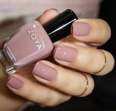 Mauve nails nude manicure #nails #manicure