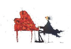 Muziek en Liefde, Michael Ferner, Nieuwjaarskaart