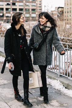 Street style New York Fashion Week, febrero 2017 ©️️ Diego Anciano