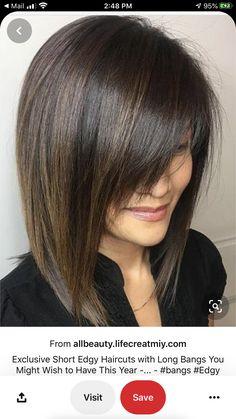 Edgy Haircuts, Hairstyles With Bangs, Hairstyles 2016, Spring Hairstyles, Pixie Haircuts, Long Bon Hairstyles, Trendy Hairstyles, Edgy Medium Hairstyles, Medium Choppy Haircuts