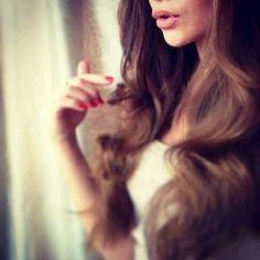 #longhair #brunette#colour #wavy