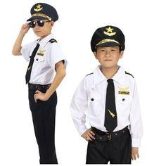 RENT/BUY KIDS PILOT COSTUME More