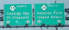 +seaside heights bridge new jersey   New Jersey Roads - NJ 37