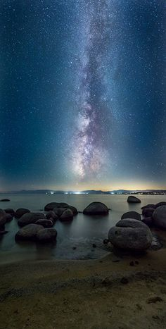 """""""Dark Needle,"""" was taken at Speedboat Beach in Lake Tahoe, August 2014 via An Interview with Photographer Nick Cahill About His Nat Geo Cover Photo - petapixel"""