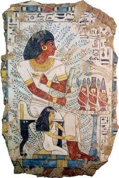 "Sennefer: Replica Panel Sizes: 24"" x 32"" | 32"" x 48"" Tomb of the Vines - Sheikh…"