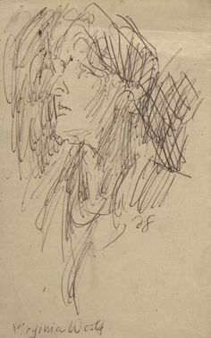 Portrait of Virginia Woolf by Duncan Grant