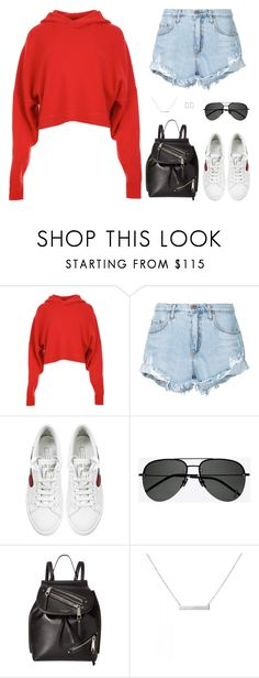 """Untitled #5169"" by mdmsb on Polyvore featuring TIBI, Nobody Denim, Marc Jacobs, Yves Saint Laurent and Jennifer Fisher"